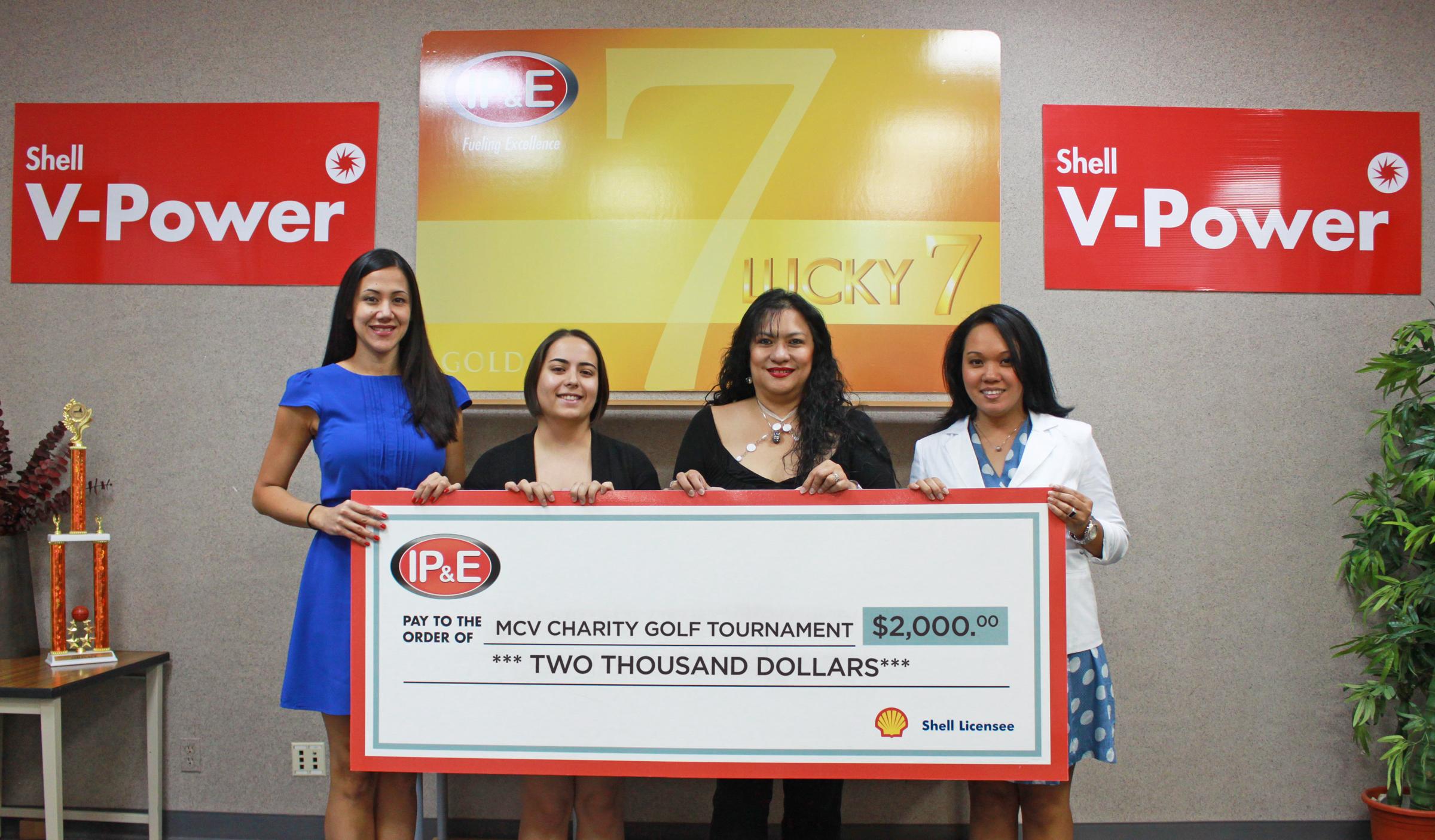 IPE_donates_to_MCV_Charity_Golf_Tournament