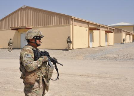 Guam Guardsmen alter missions in northern Afghanistan via US drawdown and base closure