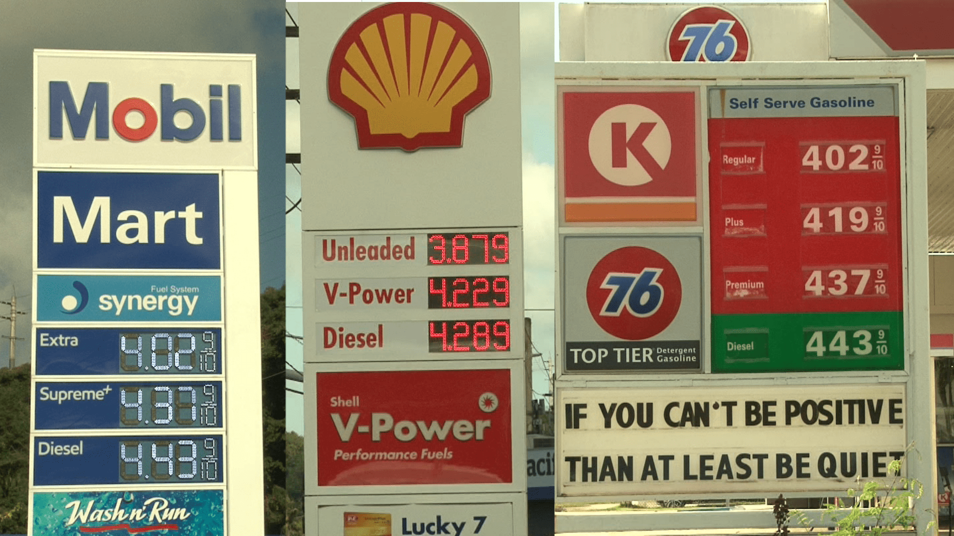 Gas prices increase over last week